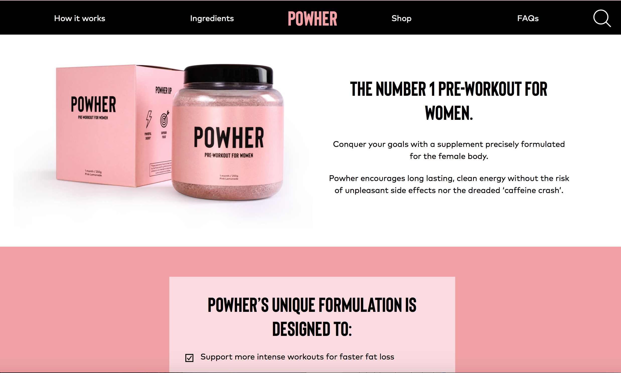 official powher website