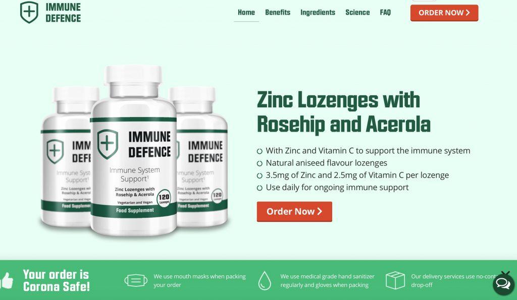 immune defence official website